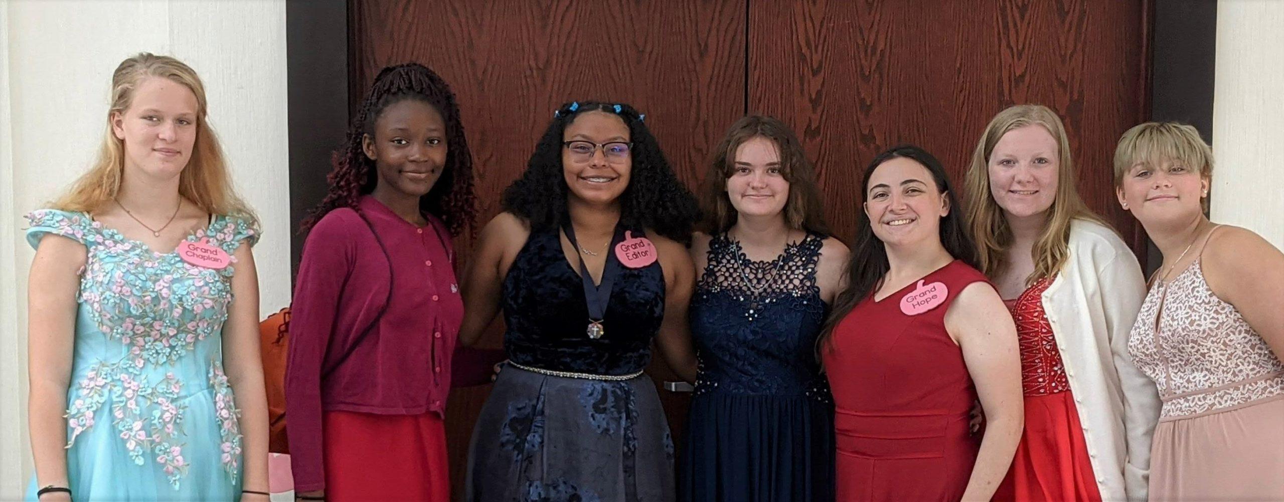 Rainbow Girls, Grand Assembly, Virginia Rainbow